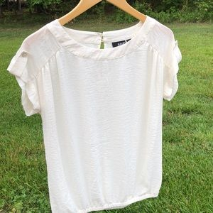 a.n.a. Polyester Blouse Size Small
